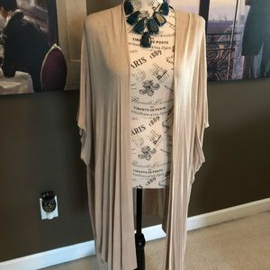 Long wrap/cardigan